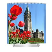 Parliament Hill, Ottawa Shower Curtain