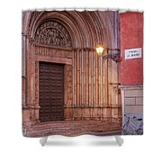 Parma Baptistery Doorway Shower Curtain