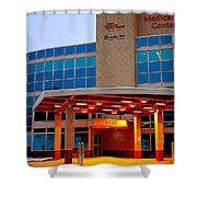 Parma Hospital Med Arts Three Shower Curtain
