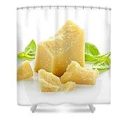 Parmesan Cheese Shower Curtain