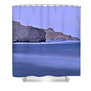 Parque Natural Cabo De Gata Almeria Spain Shower Curtain