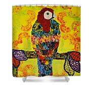 Parrot Oshun Shower Curtain