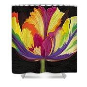 Parrot Tulip 2 Shower Curtain