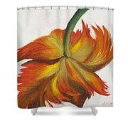 Parrot Tulip Shower Curtain
