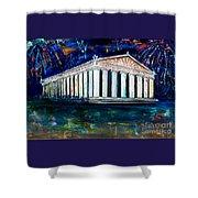 Parthenon - Nashville Shower Curtain