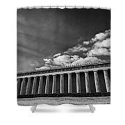 Parthenon Shower Curtain