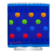 Particle 7 Shower Curtain