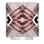 Particle Accelerator Shower Curtain