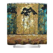 Parting Of Ways By Madart Shower Curtain
