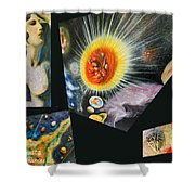 Parts Of Universe Shower Curtain