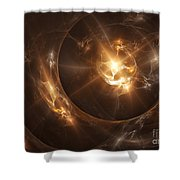 Parturition Shower Curtain