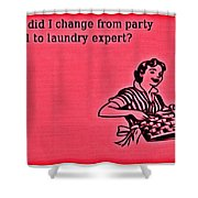 Party Animal Shower Curtain