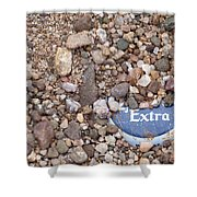 Party Excavation Shower Curtain