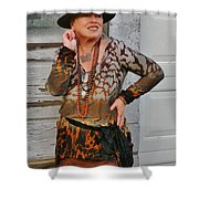 Party Night Gypsy Shower Curtain
