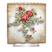 Party Of Roses  Shower Curtain