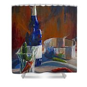 Party Peppers Shower Curtain