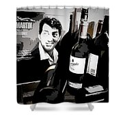 Partying With Dean Shower Curtain