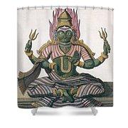Parvati, From Voyage Aux Indes Et A La Shower Curtain