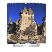 Pasabag Goreme National Park Cappadocia Turkey Shower Curtain