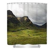 Pass Of Glencoe - D002455 Shower Curtain