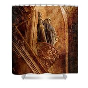 Passed In Glory Shower Curtain