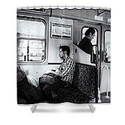 Passengers  Shower Curtain