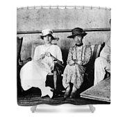 Passengers On Ship, 1912 Shower Curtain
