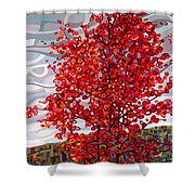Passing Storm Shower Curtain by Mandy Budan