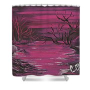 Passion Falls Shower Curtain