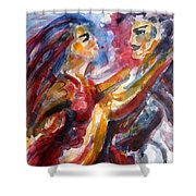 Passion Is Tango Shower Curtain