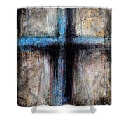 Passion Of The Cross Shower Curtain