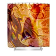 Passion Represents Color Shower Curtain
