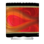 Passion Tunnel. Greeting Card Shower Curtain