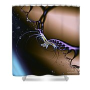 Passion Unleashed Shower Curtain by Renee Trenholm