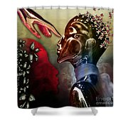 Passion Was...not A Thought Shower Curtain