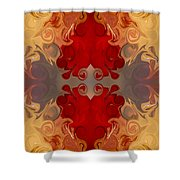 Passionate Explosions Of Colorful Reality By Omaste Witkowski Shower Curtain