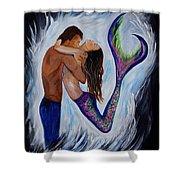 Passionate Mermaid Shower Curtain