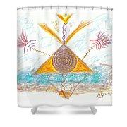 Passionate Path - Passionate Purpose Shower Curtain