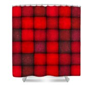 Passionate Reds Decor Shower Curtain