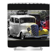 Past And Present Classic Shower Curtain