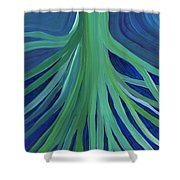 Past Lives By Jrr Shower Curtain