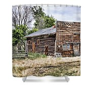 Past Stores Shower Curtain