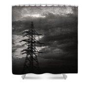 Past Shower Curtain by Taylan Apukovska