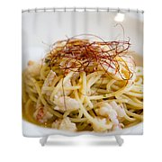 Pasta Food Shower Curtain