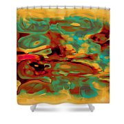 Pastel 5 Shower Curtain