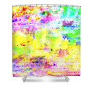 Pastel Abstract Patterns I Shower Curtain