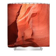 Pastel Flames Shower Curtain