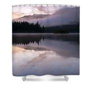 Pastel Morning Mist Shower Curtain
