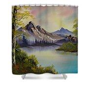 Pastel Skies Shower Curtain
