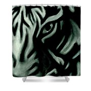 Pastel Tiger Shower Curtain